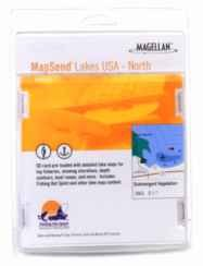 (Magellan Lakes USA West Freshwater Map microSD Card)