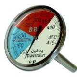 2 Inch Oven, BBQ, Grill, Smoker Thermometer 100-475 Degrees Fahreheit