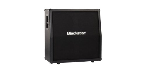 Blackstar ID412A Angled Cab,  4 x (4x12 Guitar Extension Speaker Cabinet)