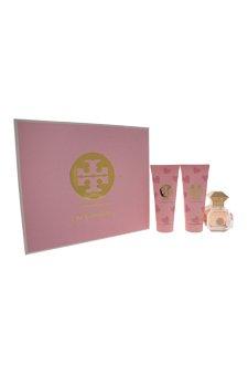 Tory Burch 3 Piece Love Relentlessly Eau de Parfum Spray Gift Set for Women