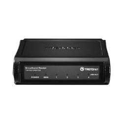 TRENDnet TW100-S4W1CA Broadband Router - 4 x 10/100Base-TX Network LAN, 1 x 10/100Base-TX Network WAN