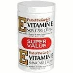 Fruit of the Earth Vitamin-E Cream 4 Ounce Jar - 2 pack (Fruit Of The Earth Vitamin C)