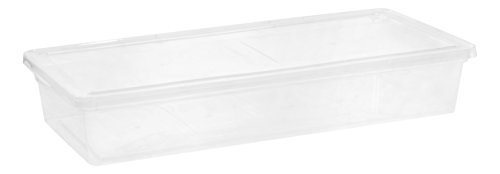 IRIS 41 Quart Clear Storage Box