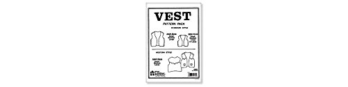 (Tandy Leather Vest Pattern Pack 6001-00)
