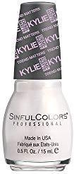 Sinful Colors Trend Matters Velvet Nail Polish #2075 - KASHMERE (Off-White Pearl) .5 Fl Oz