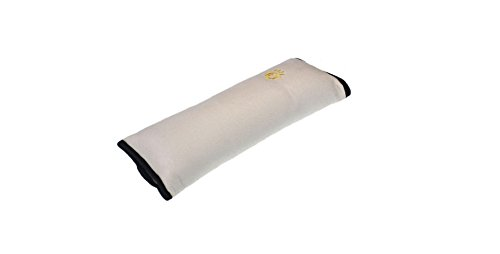 Dgg copri cintura per bambini, bambini auto copricintura morbido cuscino poggiatesta cuscino di sostegno (rosa rosso) Beige DGG.