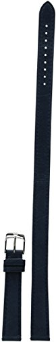 MICHELE Women's 16mm Double Wrap Genuine Leather Watch Band Color: Navy Blue (MS16BX270400)