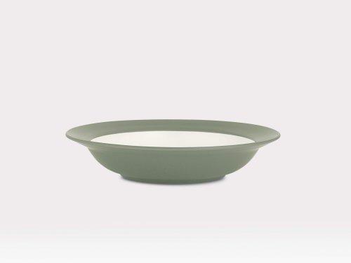 Noritake Colorwave Rim Soup/Pasta Bowl, Green, Set of 4
