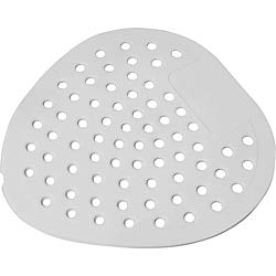 Sparco Products Vinyl - Genuine Joe Deluxe Urinal Screen - Cherry - Lasts Upto 45 Day - Flexible - 72 / Carton - White