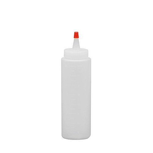SOFT N STYLE Wide Mouth 8oz Applicator Bottle (Model: B13) by Salon CA by Soft 'N Style