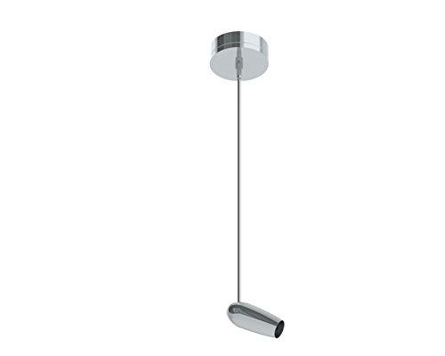 (Prima Lighting 963-1601L-PC-24 Modern Howe Track Head, Small, Polish Chrome)