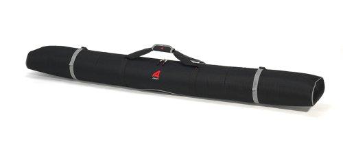 Athalon Double Padded Ski Bag (Black, - Bag Padded Ski
