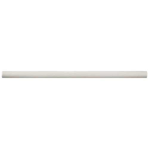SomerTile WNUCHMBB Cheshire Ceramic Demi-Bullnose Wall Trim Tile, 0.5