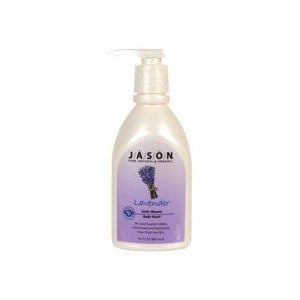 JASON NATURAL PRODUCTS BODY WASH,CALMNG,LAVENDER, 30 FZ (2 (Jason Natural Lavender Satin)