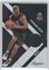Michael Redd #176/499 (Basketball Card) 2010-11 Prestige - Prestigious Pros - Green Materials [Memorabilia] #22 ()