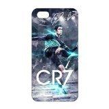 Iphone 5s Costume (Custom Cover Football Real Madrid CF Cristiano Ronaldo CR7 for iPhone 5/5S Hard Plastic Case)