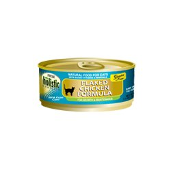 Precise Holistic Complete Grain Free Flaked Chicken Formula Canned Cat Food (5.5oz (24 in case)), My Pet Supplies