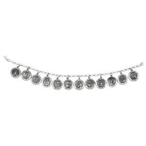 Argent 925/1000-Bracelet DES Saints-JewelryWeb 7,5 cm