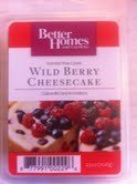 Better Homes and Gardens Wild Berry Cheesecake Scented Wax Cubes