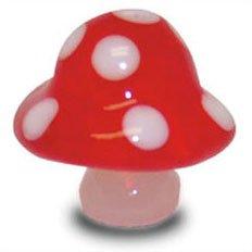 Smurf Mushroom (MUSHROOM - Tynies Miniature Glass Figurine)