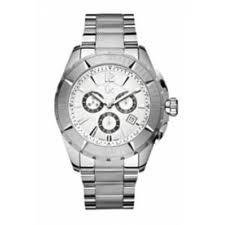Guess X53001G1S 45 Silver Steel Bracelet & Case Mineral Men's Quartz Watch