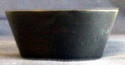 3'' Round Cup W/slanted Side Ikebana Kenzans,krc101 From Hollow Creek Bonsai