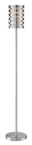(Lite Source Tendrill II Aluminum Slat Floor Lamp)