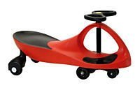 Blazing Red Rolling Coaster the Wiggling Wiggle Race Car Premium Scooter by Kids Motor Store (Image #2)