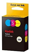 Kodak Verité High-Yield Ink Cartridge, AST1UA, Tricolor