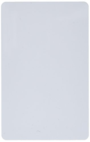 CR80 30 Mil Blank White PVC Cards, 16-Inch x 2-Inch, 500 Pack - Quality 30 Mil 500 Card