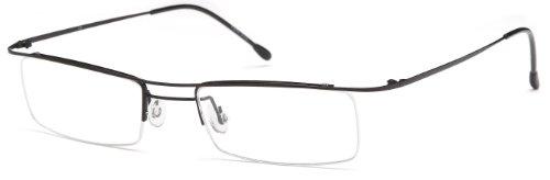 ce24cda458 Unisex Ultra Thin Semi-Rimless Glasses Frames Prescription Eyeglasses 49-17- 135 - Buy Online in UAE.