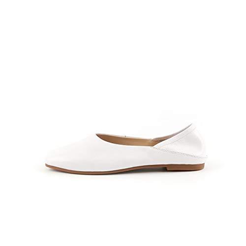 Uretano Adeesu De Blanco Tacón Sdc06222 Para Mujer Zapatos n1ZxIw1