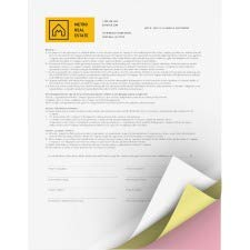 Xerox 3R12426 Premium Digital Carbonless Paper, 8-1/2 x 11, White/Canary/Pink, 835 -