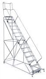 product image for Cotterman 2615R2642A6E24B4W5C1P3 - Rolling Ladder Hndrl Pltfm 150 In H