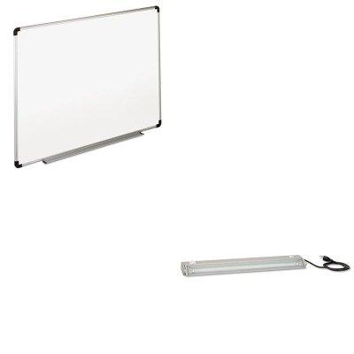 Bush Universal Light - KITBSHWC8065A03UNV43724 - Value Kit - Bush Task Light Accessory (BSHWC8065A03) and Universal Dry Erase Board (UNV43724)