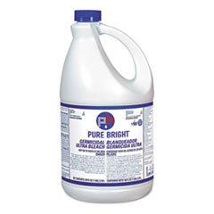 (6 Pack Value Bundle) KIKBLEACH3 Pure Bright Liquid Bleach, 1 Gallon Bottle