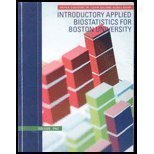 Introductory Applied Biostatistics for Boston University, Volume One (Vo), Ralph D'Agostino, 1424075815