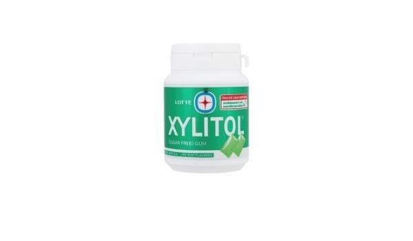 Lotte Xylitol Sugar Free Chewing Gum 61g by Lotte: Amazon.es ...