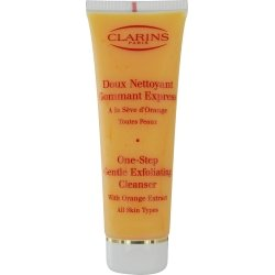 One Step Gentle Cleanser (Clarins One-Step Gentle Exfoliating Cleanser with Orange Extract 4.3 oz / 125 ml)