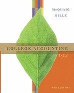 College Accounting 1-13 - Text (9th, 08) by McQuaig, Douglas J - Bille, Patricia A [Hardcover (2007)] PDF ePub fb2 book