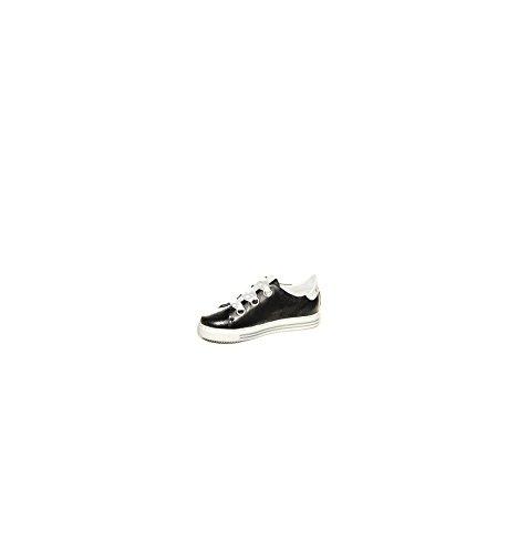 Noir 2018 Pelle Sneaker P Donna Cafe DD225 COD E in Laminata BqTCxcw8