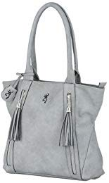 Browning Alexandria Concealed Carry Purse | Grey from Browning