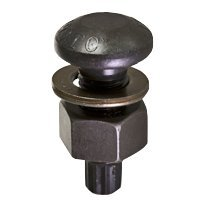1 1/8''-7x4 1/2'' Tension Control (T.C.) Bolt A490 Steel w/ A563 DH Heavy Hex Nut & F436 Washer, Round Head, Plain Finish (inch) (Quantity: 70) by Jet Fitting & Supply Corp