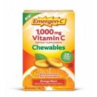 Emergen-C Vitamin C Chewables Orange 40 Chwbls Carrier to shipping international usps, ups, fedex, dhl, 14-28 Day By Dragon Shopping