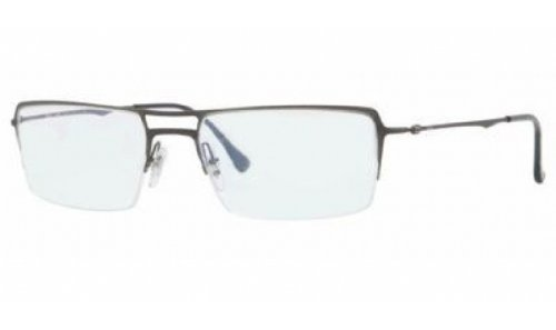 Ray Ban RX8713 Tech Eyeglasses-1128 Brusched Dark - Glasses Ray Ban Tech