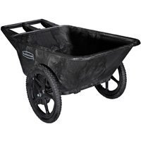 Rubbermaid Poly Farm Cart 300 Lbs. Max Capacity 7-1/2 Cu Ft