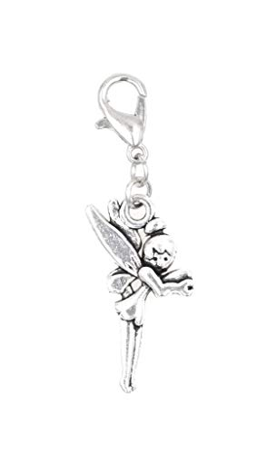 It's All About...You! Pixie with Wings Clip on Charm Perfect for Necklaces and Bracelets 101Aa]()