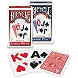 Bicycle Large Print Playing Cards (2-Pack) ()