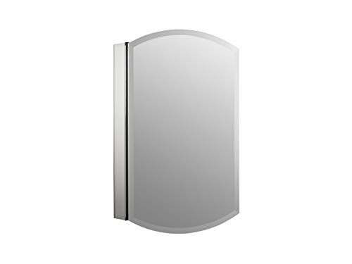 KOHLER K-3073-NA Archer Frameless 20 inch x 31 inch Aluminum Bathroom Medicine - Mirrors And Bathroom With Vanity Cabinet
