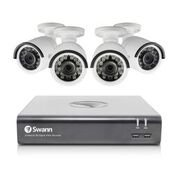 Swann SWDVK-845754-US 8 Channel HD CCTV 1080p Security System Kit with 1 TB & 4x 1080p Bullet Surveillance Cameras
